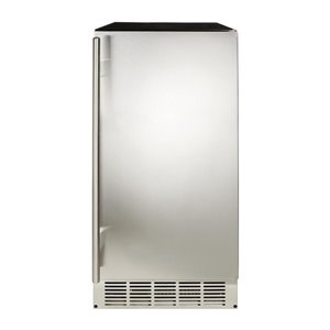 Haier 30-in 25 lb. Built-in Ice Maker (Stainless Steel)