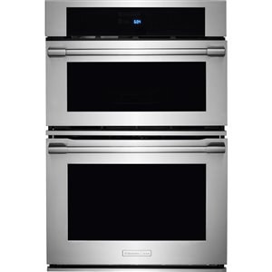 Frigidaire Icon 30-in Convection Microwave Wall Oven Combo (Stainless Steel)