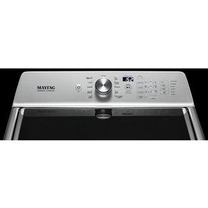Maytag 6.0-cu ft High Efficiency Top-Load Washer with Agitator (Metallic Slate)