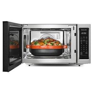 KitchenAid 1.5-cu ft 1400-Watt Countertop Convection Microwave (Stainless Steel)