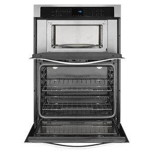 Whirlpool 30-in Self-Cleaning Microwave Wall Oven Combo (Stainless Steel)