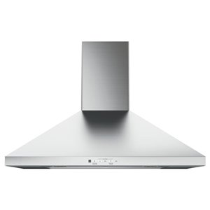GE 30-in Wall-Mounted Range Hood (Stainless Steel)