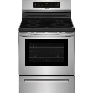 Frigidaire 30-in 5.3 cu ft Induction Range with Self-Cleaning Oven (Stainless Steel)