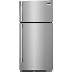 Frigidaire Professional 18.0-cu ft Top-Freezer Refrigerator (Smudge-Proof™ Stainless Steel) ENERGY STAR