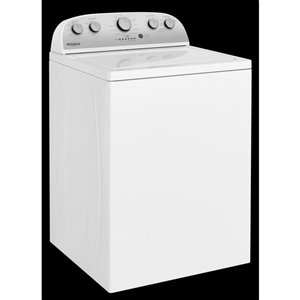 Whirlpool 3.9-cu ft High-Efficiency Top-Load Washer (White)