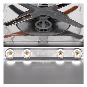 LG 24-in 42-Decibel Hard Food Disposer Built-In Dishwasher (Fingerprint-Resistant Black Stainless Steel) ENERGY STAR