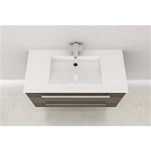 Cutler Silhouette 30 In Single Sink Zambukka Bathroom