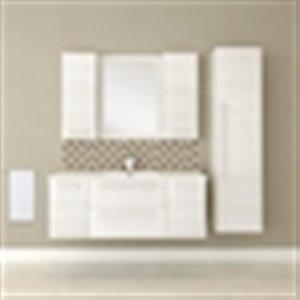 Cutler Silhouette 48-in Single Sink Bathroom Vanity with Cultured Marble Top
