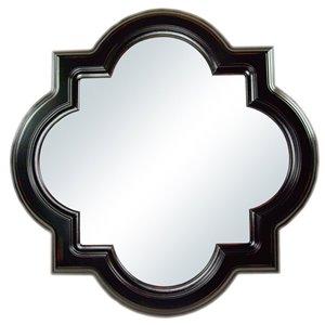 30-in Quatrefoil Octagon Framed Mirror