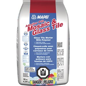 MAPEI 10-lb Adesilex P10 Thin-Set Mosaic and Glass Tile Mortar