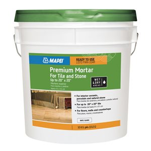 MAPEI 3.50-Gal Premixed Tile Mortar
