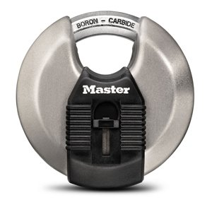 Master Lock Magnum 3-in Wide Stainless Steel Discus Lock