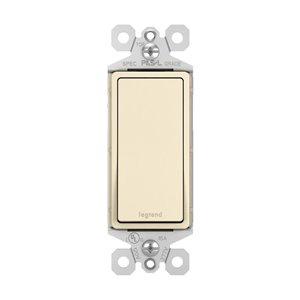 Legrand 15 Amp Light Almond Decorator Light Switch (10-Pack)