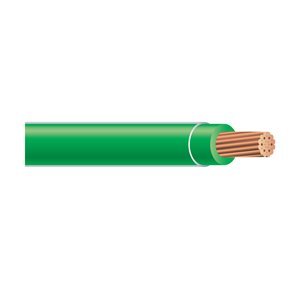 Southwire 30m 10 AWG Stranded Green Copper THHN Wire (By-the-Roll)