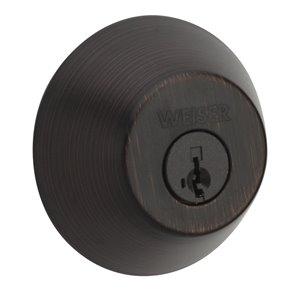 Weiser Welcome Home GD9471 SmartKey Deadbolt (Venetian Bronze)
