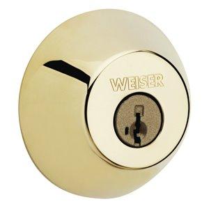 Weiser Welcome Home GD9471 SmartKey Deadbolt (Polished Brass)