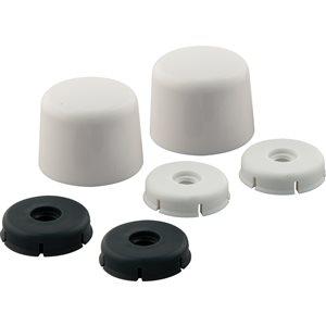 Master Plumber Deluxe Toilet Bolt Cap Set