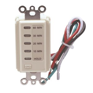 Westek 15-Amp 1-Outlet Digital Residential Hardwired Countdown Function Lighting Timer