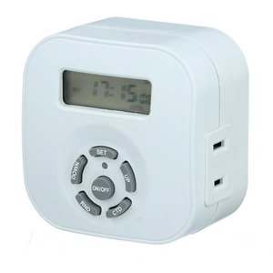 Westek 8-Amp 1-Outlet Digital Residential Plug-in Lighting Timer