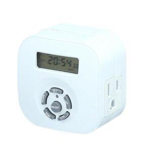 Westek 15-Amp 1-Outlet Digital Residential Plug-in Lighting Timer
