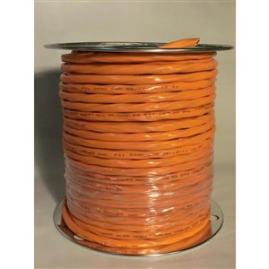 30-Amp 300-volt 10m 10/3 Orange Romex (By-the-Roll)