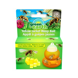 Green Earth Yellow Jacket Wasp Bait