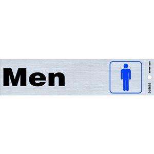 Hillman 2-in x 8-in Men Sign