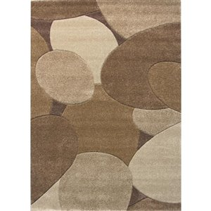 Balta Brown (Common:; Actual: 5.25-ft W x 7.33-ft L)
