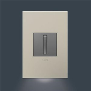 Legrand Adorne Accent Clear LED Night Light with Auto On/Off