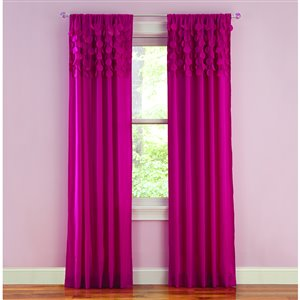 Style Selections 28-in to 48-in Clear Metal Single Curtain Rod