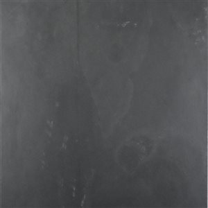 Avenzo 12-in x 12-in Black Natural Slate Wall and Floor Tile