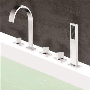 Jade Bath Klara Chrome Deck-Mounted Faucet