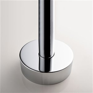 Jade Bath Lory Chrome Floor-Mounted Tub Filler