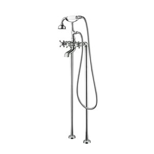 Jade Bath Century II Chrome Floor Mounted Tub Filler