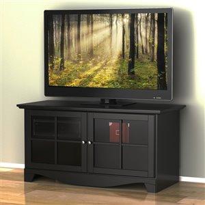 Nexera Pinnacle 49-in Black TV Stand