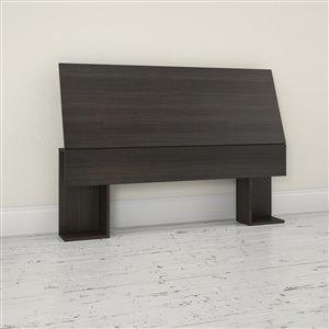 Nexera 38.50-in x 55.25-in Full Size Ebony Headboard