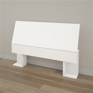 Nexera 38.50-In x 55.25-In Full Size White Headboard
