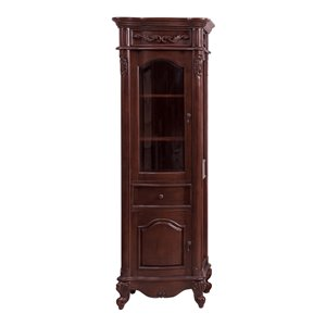 Avanity Provence 24-in Antique Cherry Linen Tower