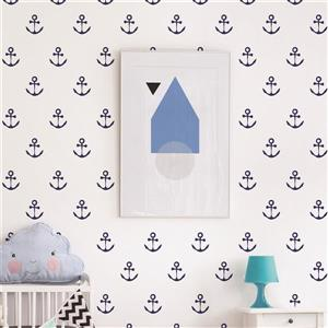 ADzif Peel and Stick Wall Decal - Anchors Aweigh