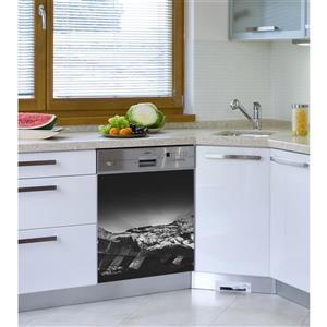 ADzif Peal and Stick Decal for Dishwasher - Himalayas' Sunset