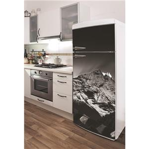 ADzif Himalayas Sunset 30- in x 70- in Peal and Stick Decal for Refrigerator