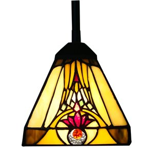Fine Art Lighting Ltd. Tiffany-Style Mini Pendant Light