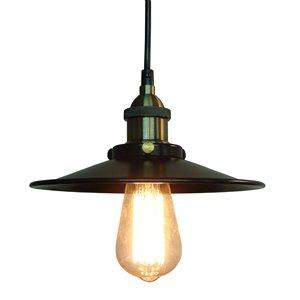 Fine Art Lighting Ltd. Restoration Style Vintage Bronze Mini Pendant Light