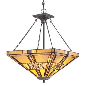 Fine Art Lighting Ltd. Tiffany-Style Pendant Light