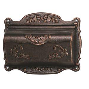 Fine Art Lighting Ltd. Bronze Ornate Wall Mounted Mailbox