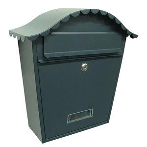 Fine Art Lighting Ltd. Black Locked Mailbox