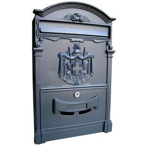 Fine Art Lighting Ltd. Black Aluminum Mailbox