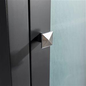 GEF Willow Linen Cabinet, Grey