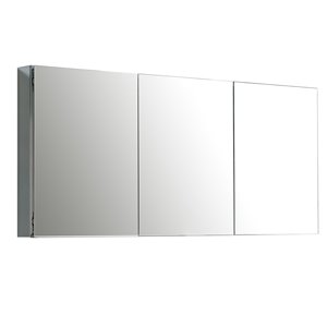 GEF Avila Aluminum Medicine Cabinet, 60-in