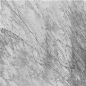 GEF Bathroom Vanity Countertop, 73-in Carrara Marble